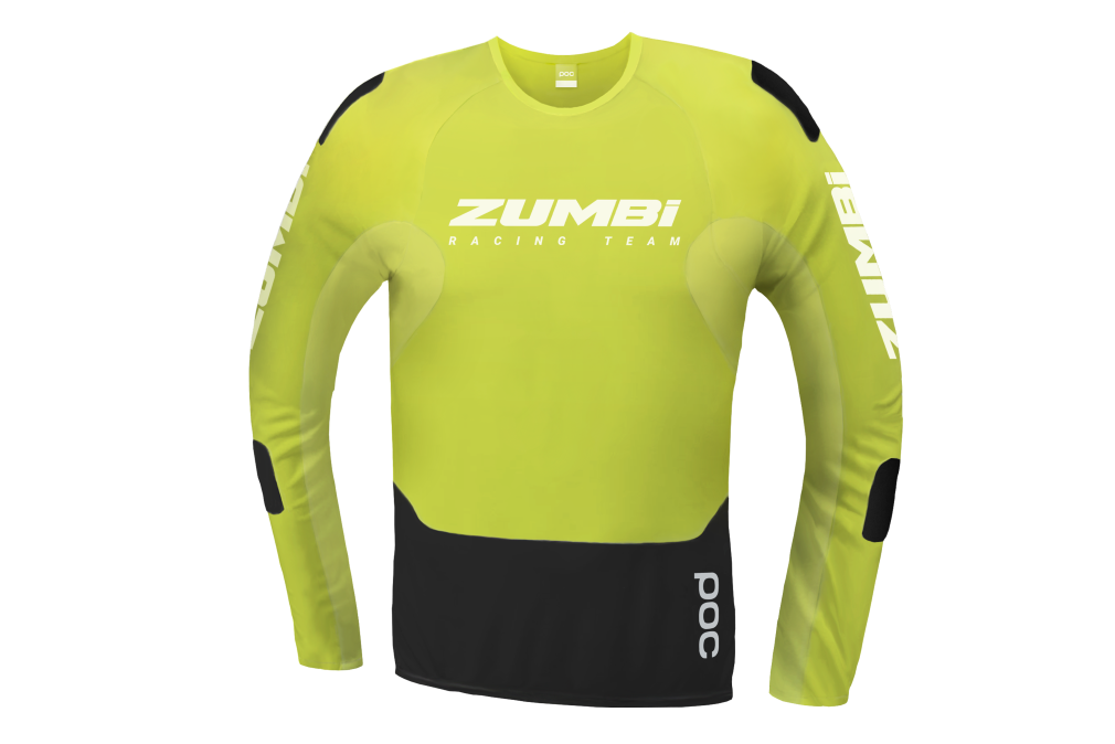 POC RESISTANCE JERSEY WITH BIG ZUMBI LOGO