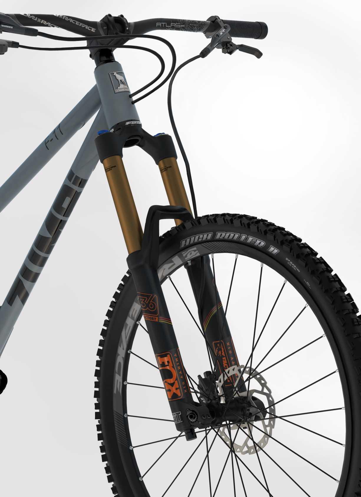 Mtb Full Bike F11 650b Boost Zumbi Cycles Element Fullsus Pride 20 Greey Red Manufactor 3