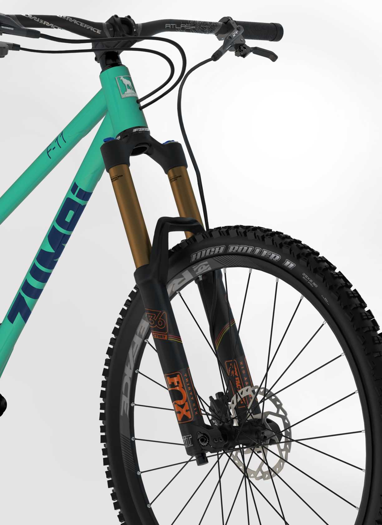 BIKE F11 27 5 FOX green Zumbi Cycles
