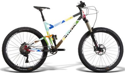 bike endur bos paint