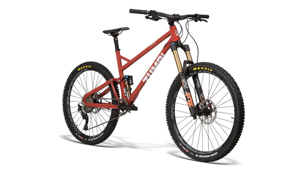 bike enduro zumbi cycles 160mm fox 10