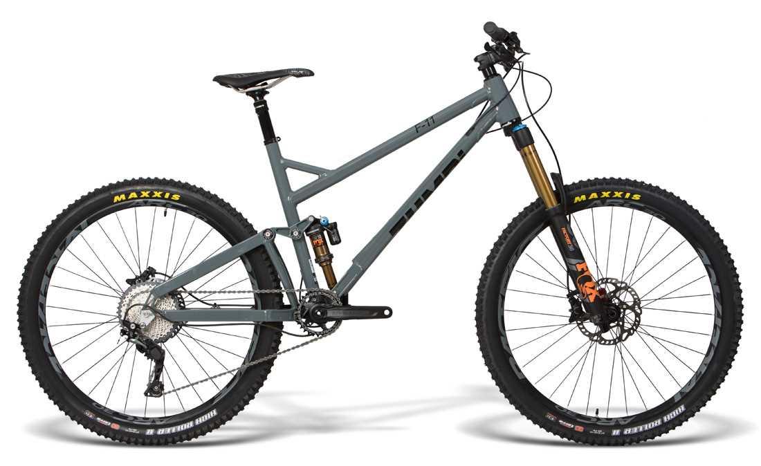 enduro mtb fox 160mm zumbi cycles