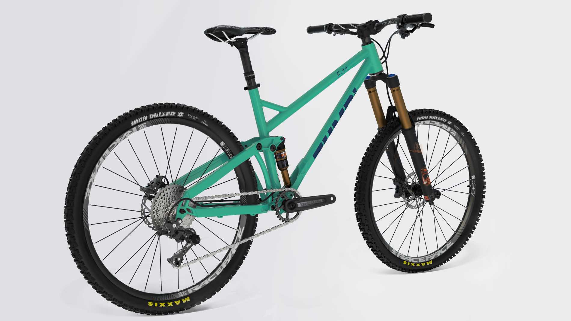 mtb bike 29 fox zumbi cycles racing front