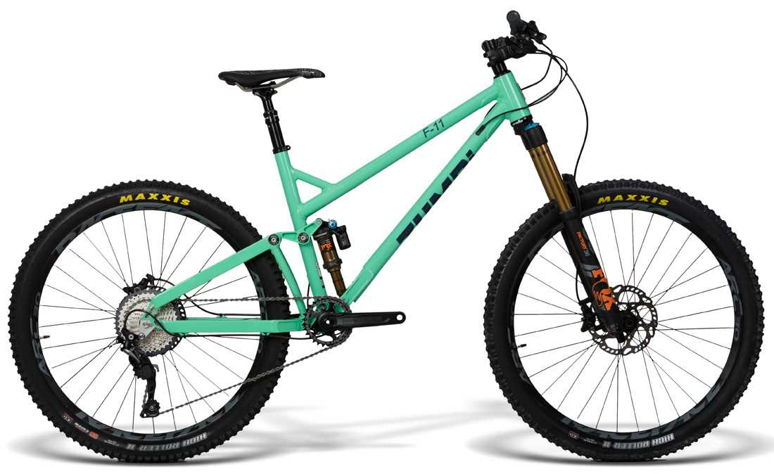 mtb bike f11 650B fox zumbi cycles racing