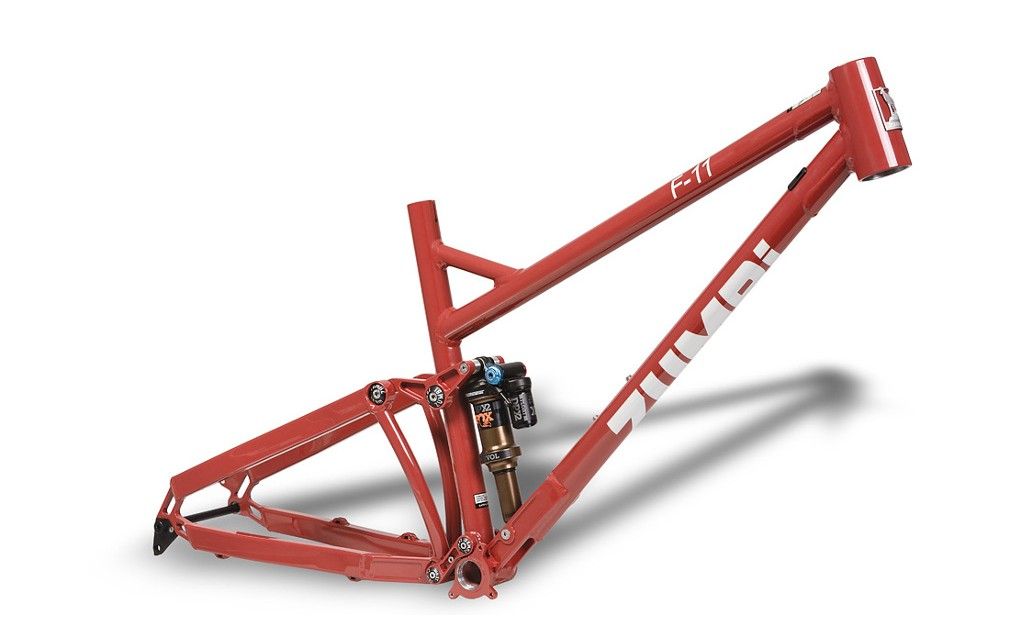 zumbi cycles enduro frame 150mm